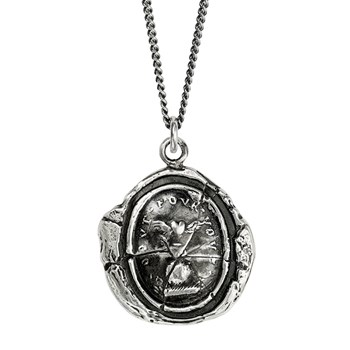 605-01305-Winged Heart Talisman Necklace