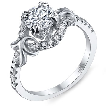 345243-Parade Diamond Split Halo Ring
