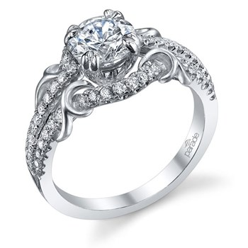 345260-Parade Diamond Split Halo Ring