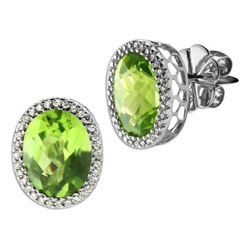 Peridot Earrings-340854