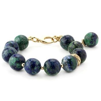Lollies Azurite & Malachite Bracelet 344560