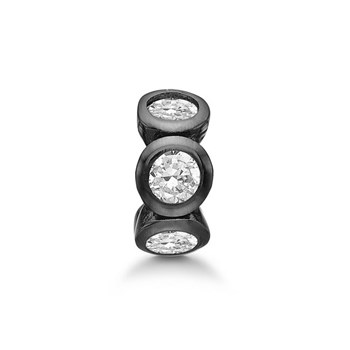 STORY by Kranz & Ziegler Black Rhodium Circle Ring Spacer