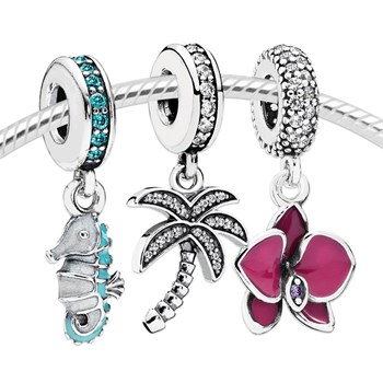 3548-PANDORA Tropical Vacation Set