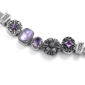 337580-Lori Bonn Grape Stomper Bracelet ONLY 2 LEFT!