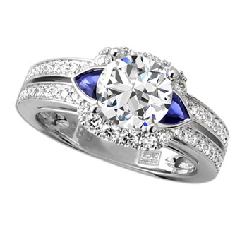 Frederic Sage Sapphire Engagement Ring-348879