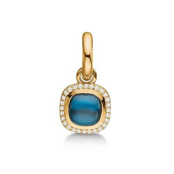 STORY by Kranz & Ziegler Gold-Plated Gem Stone Charm