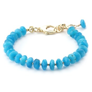 344975-Lollies Blue Quartz Bracelet