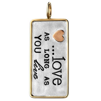 Love as long as you Live charm 339953