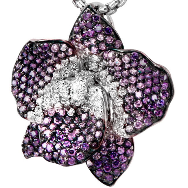 337853-Flower Bling Pendant ONLY 1 AVAILABLE