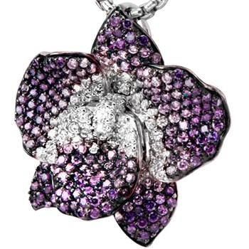 Purple Flower Pendant-337853
