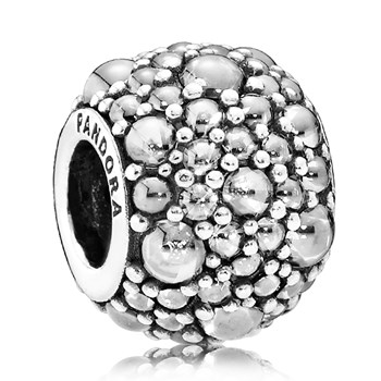 PANDORA Shimmering Droplets with Clear CZ Charm
