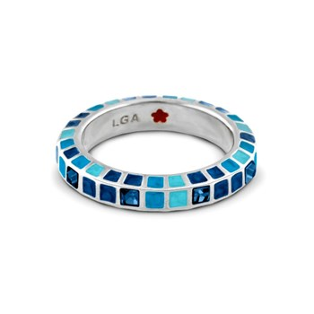 342445-Blue 'Stackable Fiesta' Ring