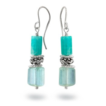 Amazonite & Aquamarine-210-853