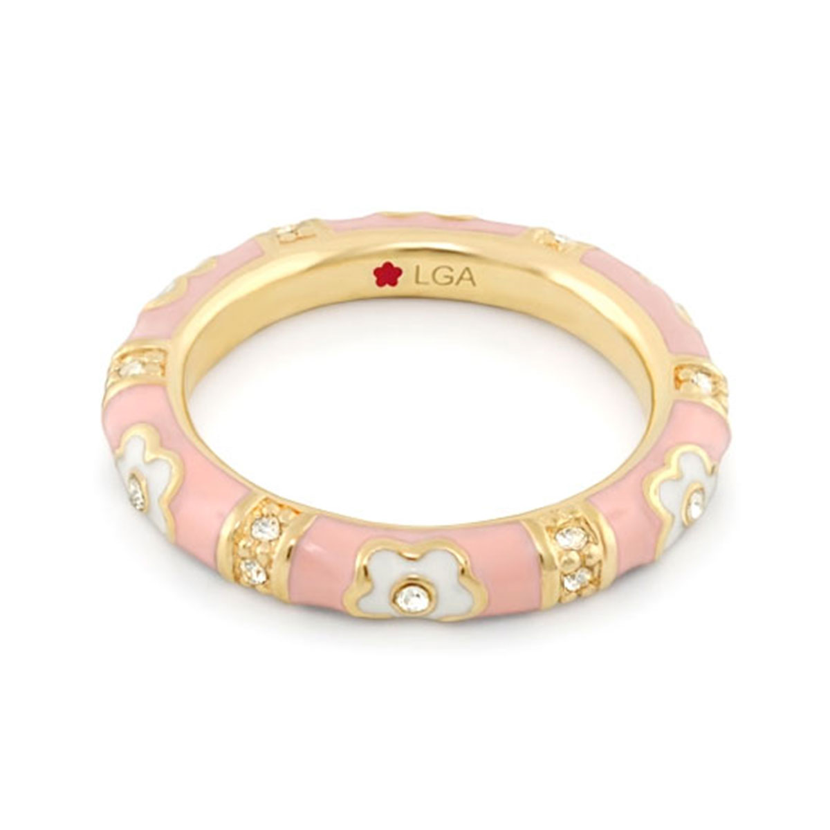 343244-Pink 'Daisy Love' Ring