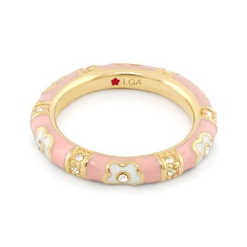 Pink 'Daisy Love' Ring-343244