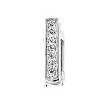 343212-Lori Bonn Silver Bling Leather Bracelet Stopper PRE-ORDER