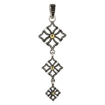 Triple Cross Pendant-605-1254