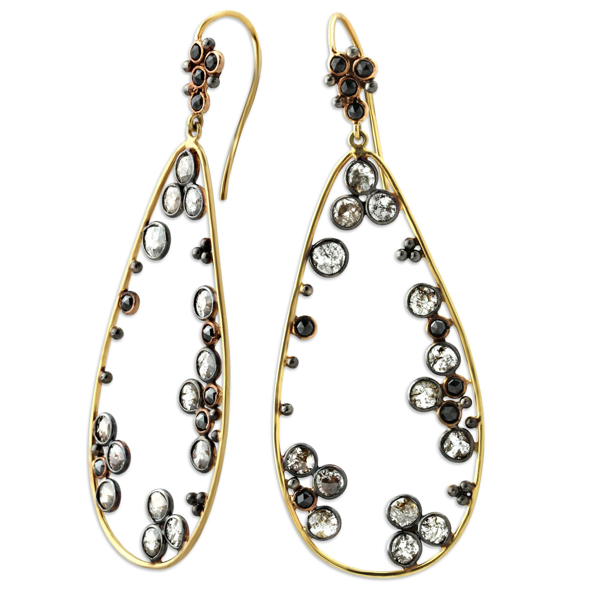 340052-Raw Diamond Earrings