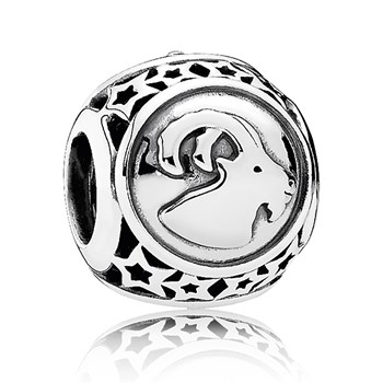 PANDORA Capricorn Star Sign Charm