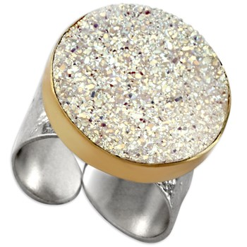Opal Drusy Ring-339962