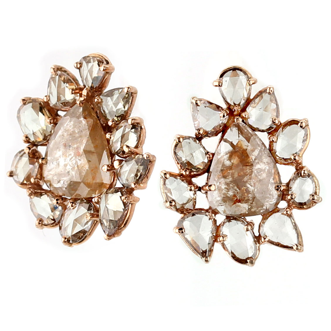 341249-Raw Diamond Earrings