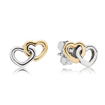PANDORA Heart to Heart Earrings-349099