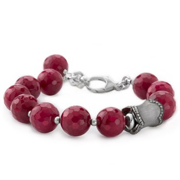 Lollies Red Agate Bracelet