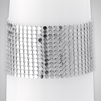 343271-Soft Weave Cuff Bracelet ONLY 2 LEFT!
