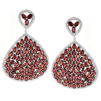 347231-Garnet Earrings
