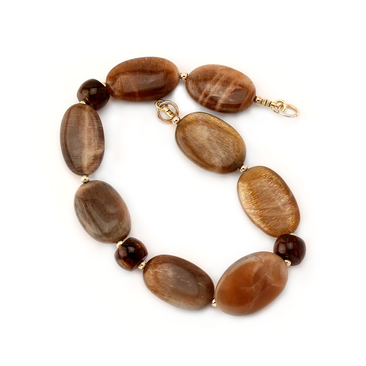 341393-Sunstone & Pietersite Interchangeable Strand