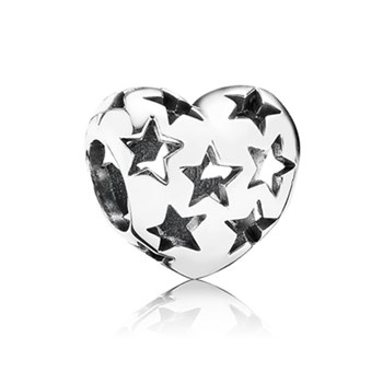 PANDORA Starry Heart Charm *PANDORA Shop in Shop Exclusive*-348165