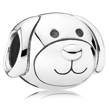 802-3032-PANDORA Devoted Dog Charm