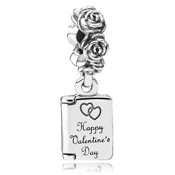 PANDORA Love Note Dangle-345479 RETIRED
