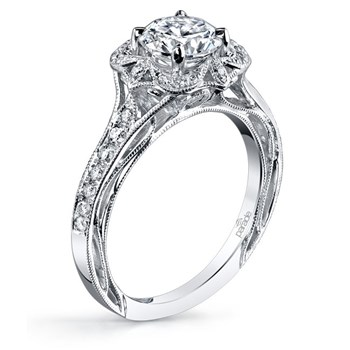 345267-Parade Vintage Design Diamond Ring