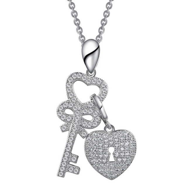 341023-Key to My Heart Necklace