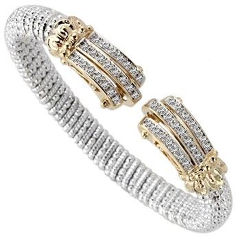 344532-Claw Tip Diamond Bracelet