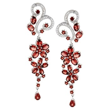 347230-Garnet Earrings