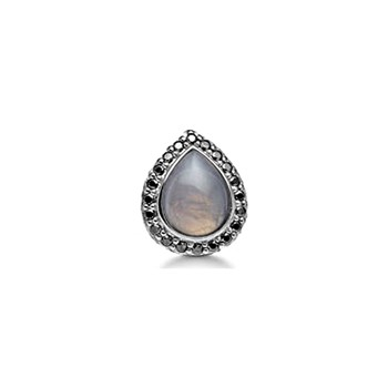 STORY by Kranz & Ziegler Black Rhodium Tiara Drop Button-346909 RETIRED ONLY 1 LEFT!