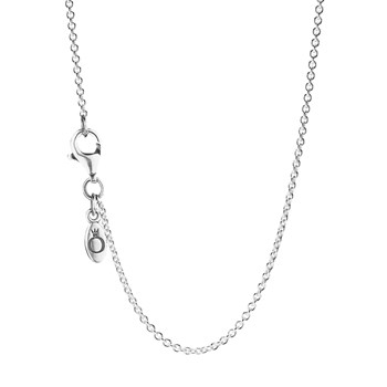590412-PANDORA Sterling Silver Chain with clasp