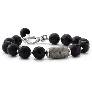 Lollies Black Agate Bracelet