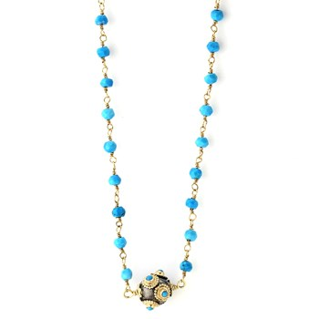 349295-Turquoise Necklace
