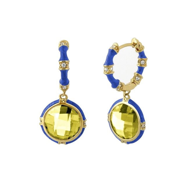 342678-Blue 'Prince Charming' Earrings