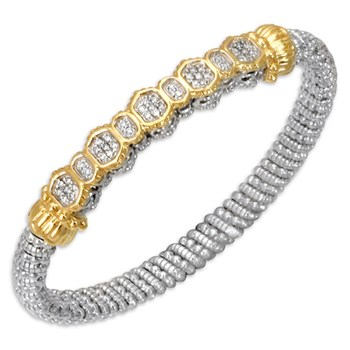 Geometric Diamond Bracelet-338590