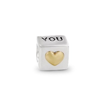 PANDORA I Love You with 14K Charm-187527