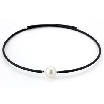 White South Sea Pearl Wrap Necklace-343369