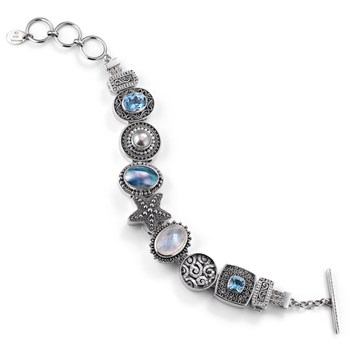336469-Lori Bonn The Beach Comber Charm Bracelet ONLY 1 LEFT!