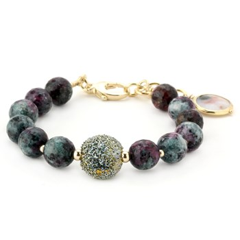 Lollies Ruby Zoisite Bracelet 344497