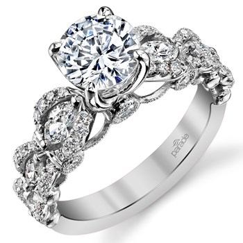 "347991-Parade ""Hemera"" Semi-Mount Diamond Ring"
