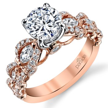 "345388-Parade ""Hemera"" Diamond 18K Rose Gold Ring"