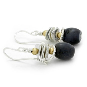 Pietersite Earrings-210-757